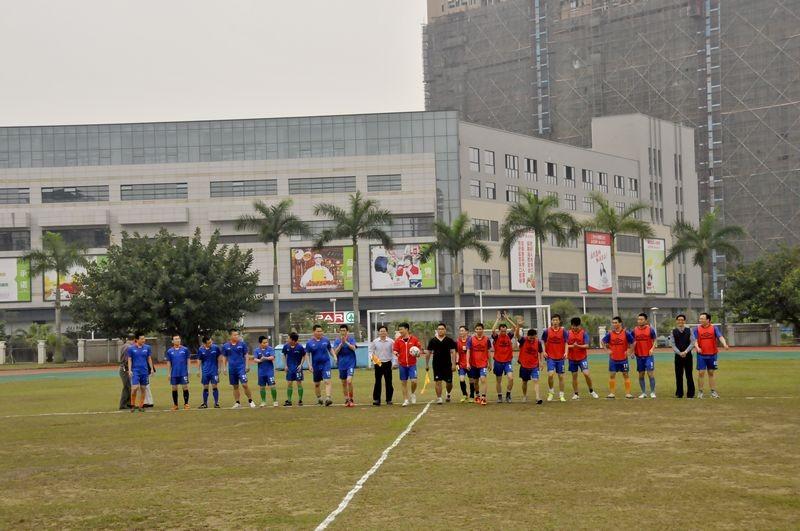 东莞市东城初级中学举行专项教职工足球比赛周周练初中v专项青年英语图片